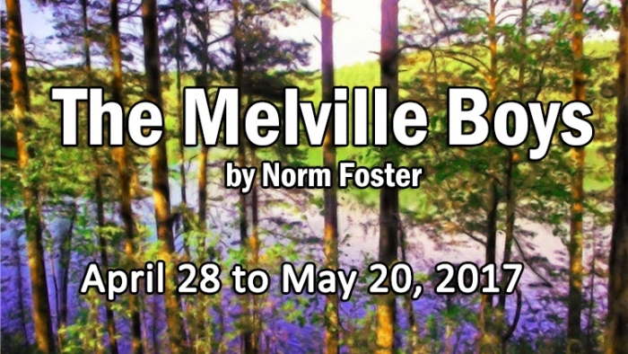 """""""village playhouse toronto"""" """"village players"""" """"bloor west"""" theatre theater """"Melville Boys"""" """"Norm Foster"""""""