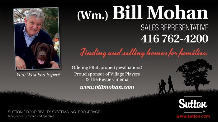 """sponsor """"bill mohan"""""""