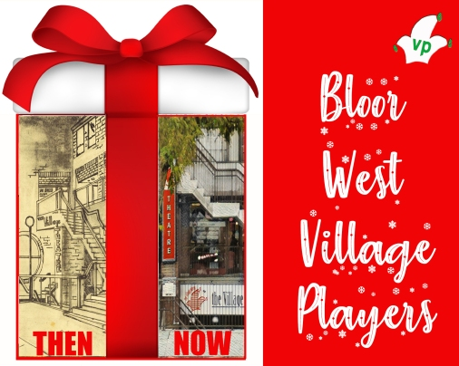 """donations """"village players"""" """"village players donations"""" """"bloor west village players"""""""