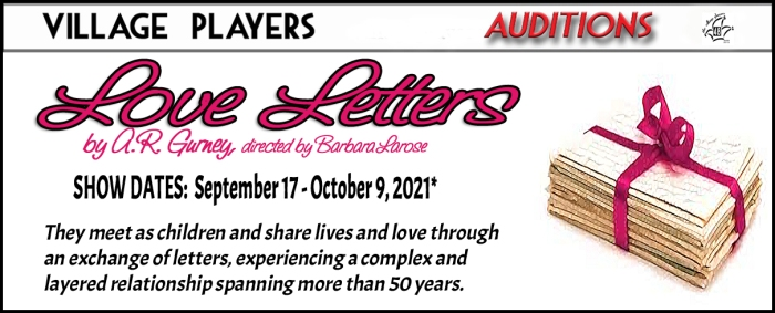 """""""Village Players"""" """"Bloor West Village Players"""" """"Village Playhouse"""" """"Runnymede theatre"""" theatre theater """"community theatre"""" """"Love Letters"""" Gurney auditions"""
