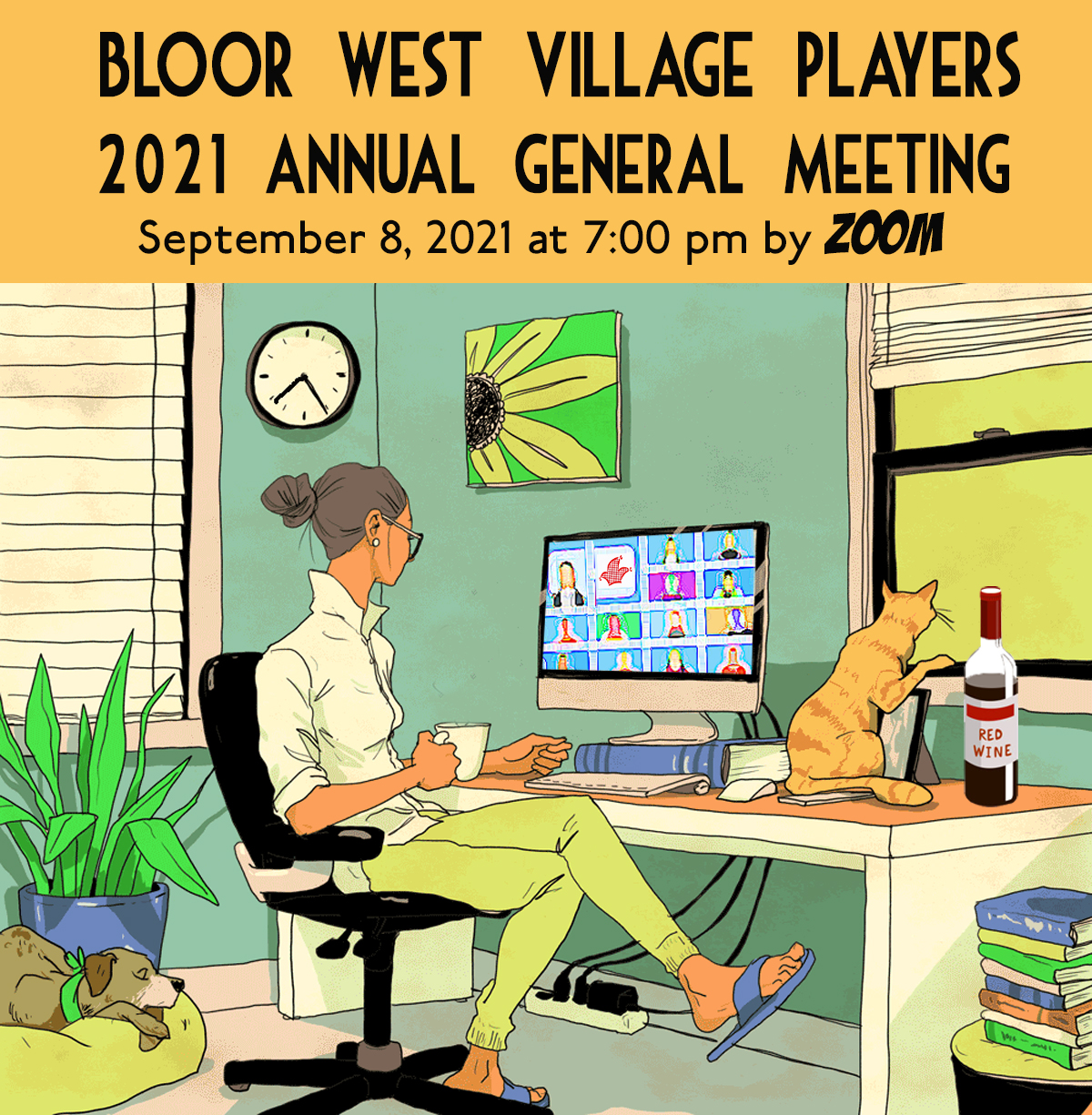"""""""Village Players"""" """"Bloor West Village Players"""" """"Village Playhouse"""" """"Runnymede theatre"""" theatre theater """"community theatre"""" AGM """"Annual General Meeting"""""""